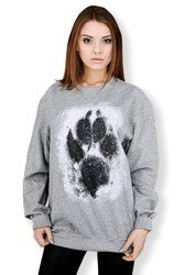 Bluza marki UNDERWORLD unisex Animal footprint