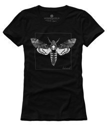 T-shirt damski UNDERWORLD Night Butterfly czarny