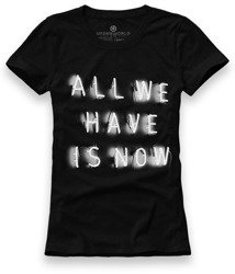 T-shirt damski UNDERWORLD All we have is now