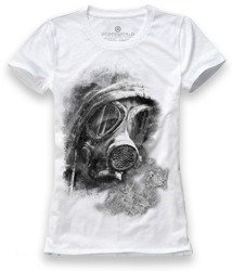 T-shirt damski UNDERWORLD Gas mask