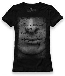 T-shirt damski UNDERWORLD Silent people have...