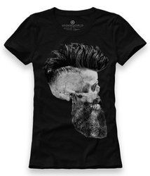 T-shirt damski UNDERWORLD Skull with a beard