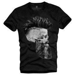 T-shirt męski UNDERWORLD Skull with a beard