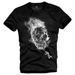 T-shirt męski UNDERWORLD Smoke skull