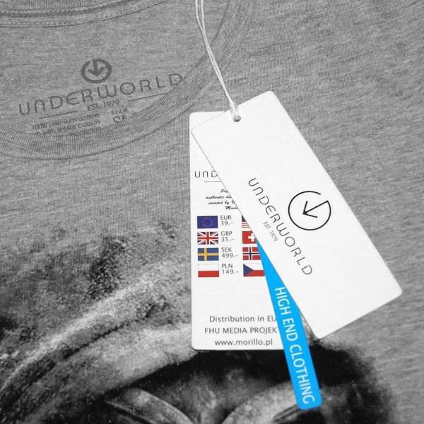 T-shirt damski UNDERWORLD Animal footprint