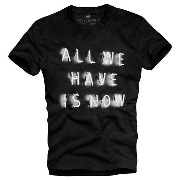 T-shirt męski UNDERWORLD All we have is now